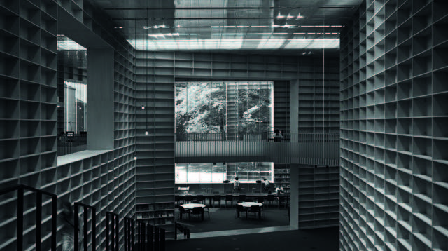 1) 무사시노 미술대학교 도서관